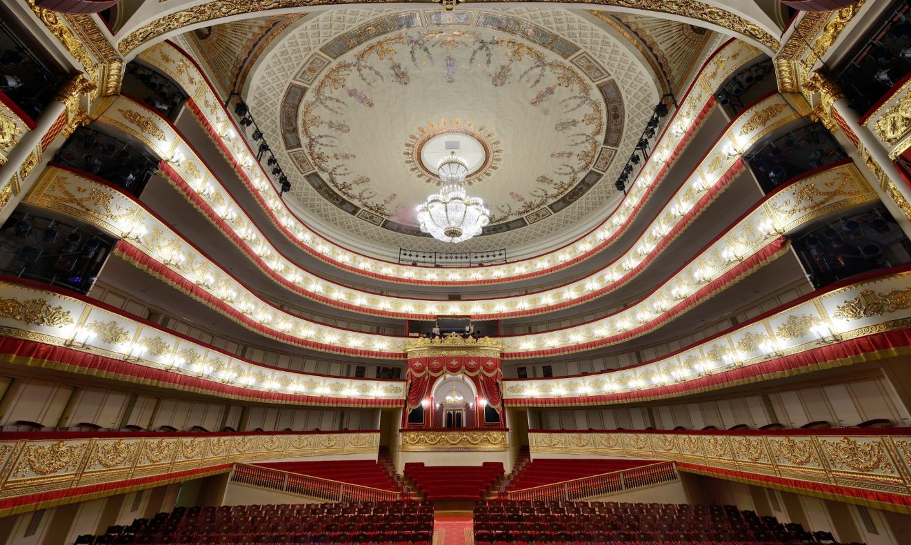The Theatre Olympics and TASS offer a virtual tour of Alexandrinsky Theatre